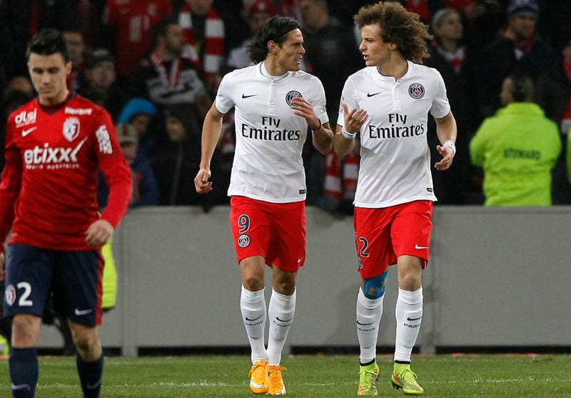 hot sale online 069aa 05aae PSG Players David Luiz And Edinson Cavani Are Worried About ...