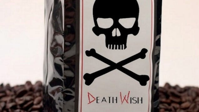 Would You Drink a Cup of Death Wish Coffee That Has Twice the ...