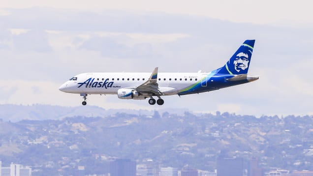 Alaska Airlines is Having a  Buy One, Get One  Sale For Flights Today