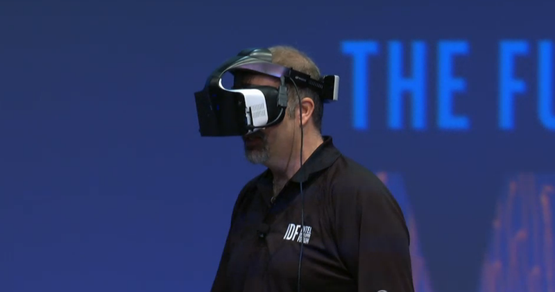 Intel Made a VR Headset and It's Totally Cord-Free