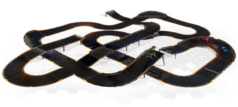 Illustration for article titled Anki's Officially Killed Slot Cars With Overdrive's Customizable Tracks