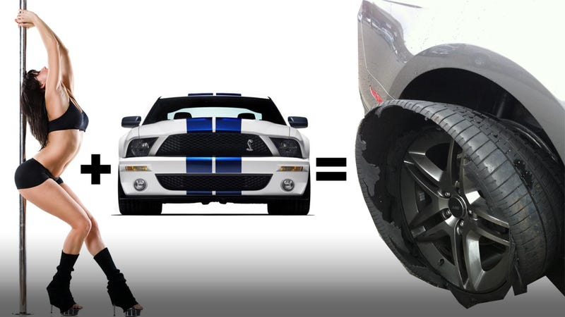 Illustration for article titled This Is Why You Don't Buy Your Stripper Girlfriend A Shelby GT500