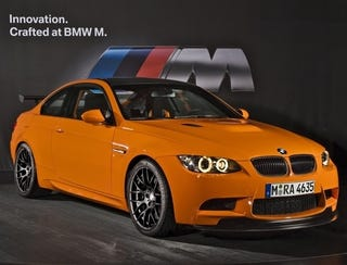 Illustration for article titled BMW M3 GTS: The Fastest M3 Ever