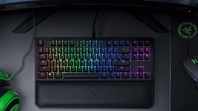 Razer BlackWidow TE Chroma v2 Tenkeyless Mechanical Gaming Keyboard | $90 | Amazon
