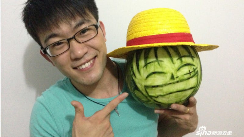 King of the Pirates? No, King of the Watermelons