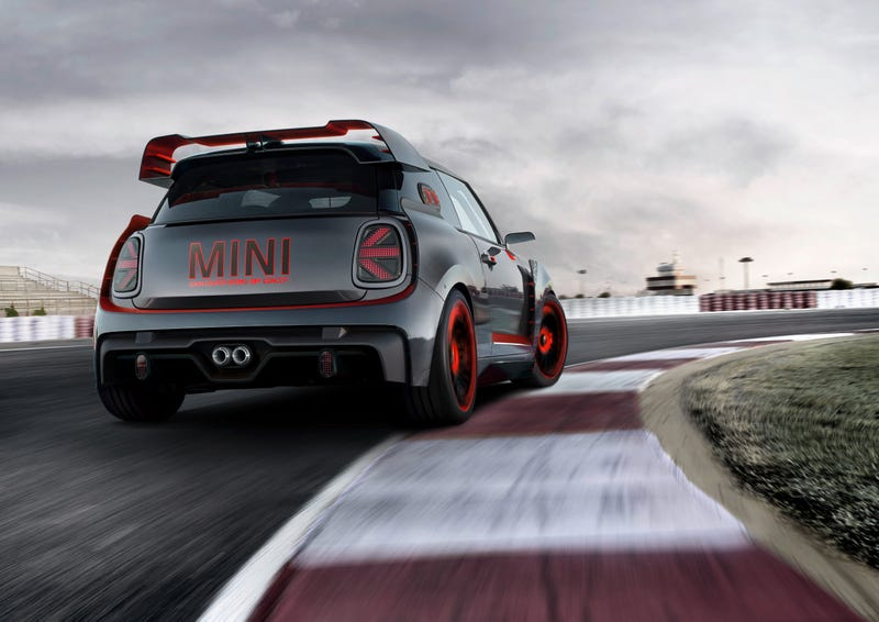 The 2020 Mini John Cooper Works Gp Will Keep Some Of Wild Concept Looks
