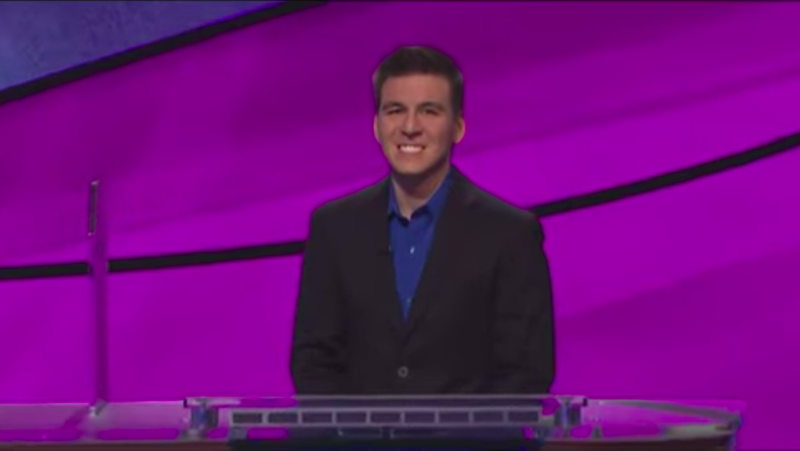 Everyone's already spoiled it, so screw it, here's the Jeopardy! champ update