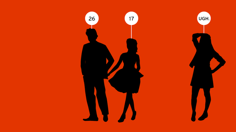 Illustration for article titled My Friend Is Dating an Underage Woman and It Creeps Me Out