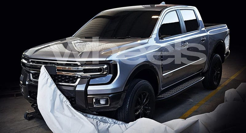 Illustration for article titled Could the Next Ford Ranger Look Like This?