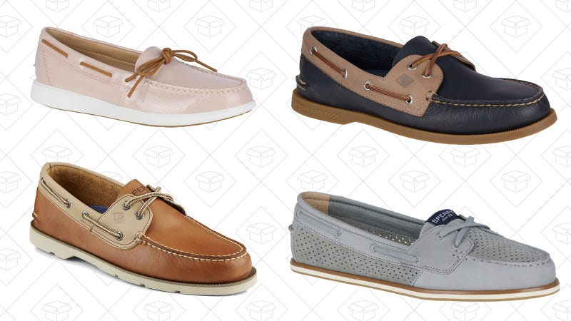 Select boat shoes   $50   Sperry