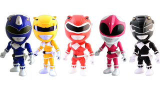 Illustration for article titled These Giant-Headed Power Rangers Figures Are Adorable And Awesome