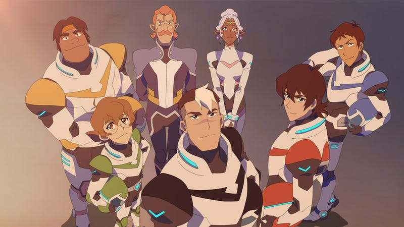 Illustration for article titled Hot Take: The Voltron reboot is better than even my memory of the original.