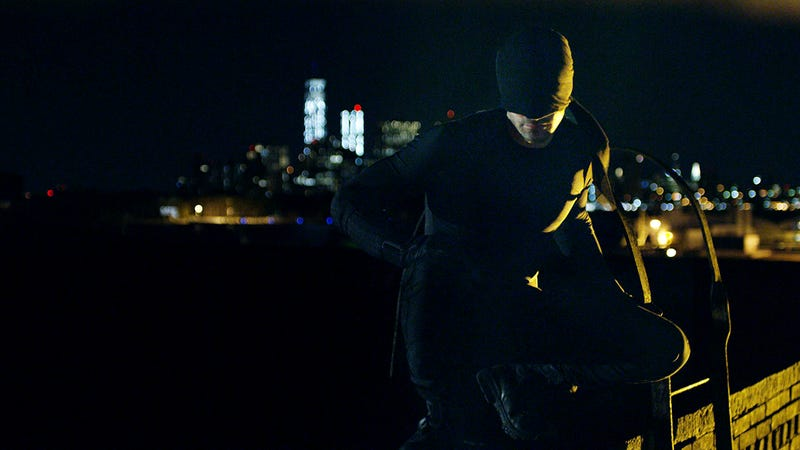 Illustration for article titled Daredevil viste de negro en el épico tráiler de su serie en Netflix