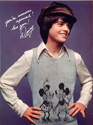 Illustration for article titled Rolled Up Donny Osmond Poster Found In Fan's Vagina
