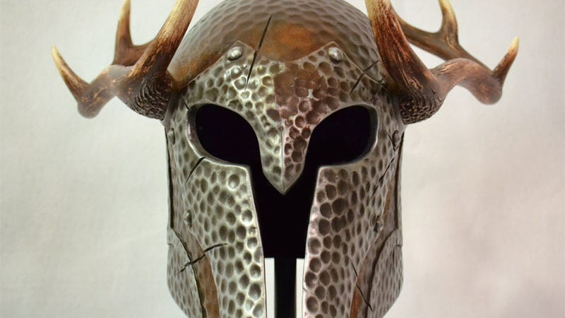 Illustration for article titled What a Skyrim Helmet Looks Like in the Real World
