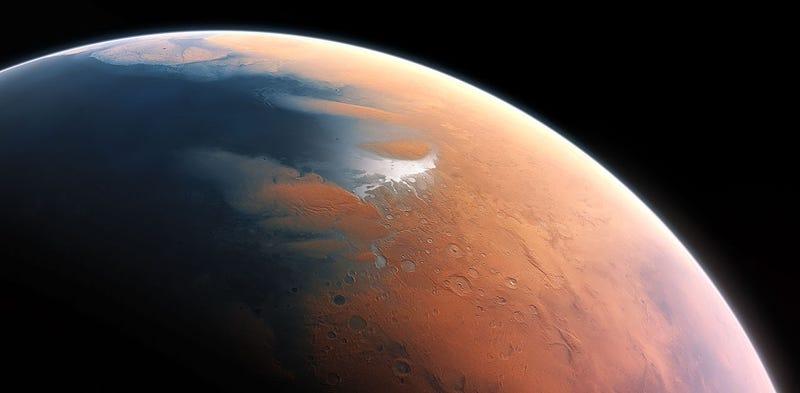 Illustration for article titled Prueban que Marte tuvo un océano de agua líquida como los de la Tierra