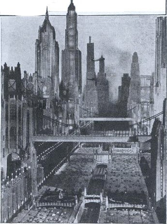 Illustration for article titled Hollywood Imagines 1980s New York—in 1930