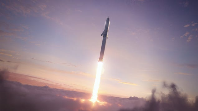 SpaceX Lays Out Plan for First Starship Orbital Test Flight