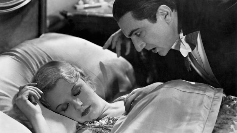 Helen Chandler and Bela Lugosi in Dracula. (Photo: Bettmann/Getty Images)