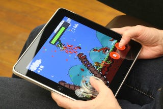 Illustration for article titled Add a Removable Joystick to Your iPad for $25