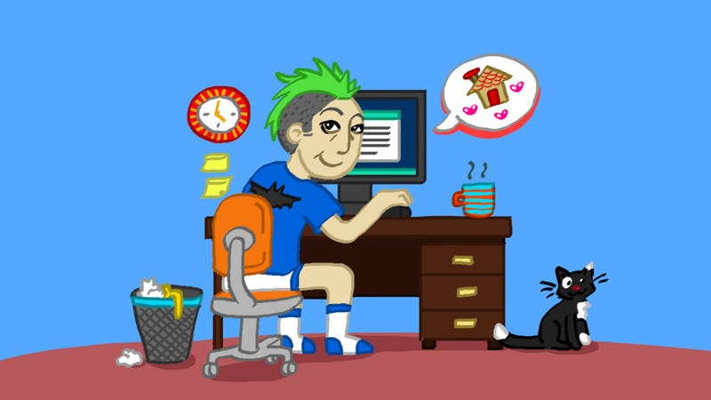 Illustration for article titled Five Work-From-Home Tips That Apply to Office Life