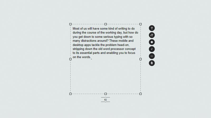 Distraction free writing app ios file