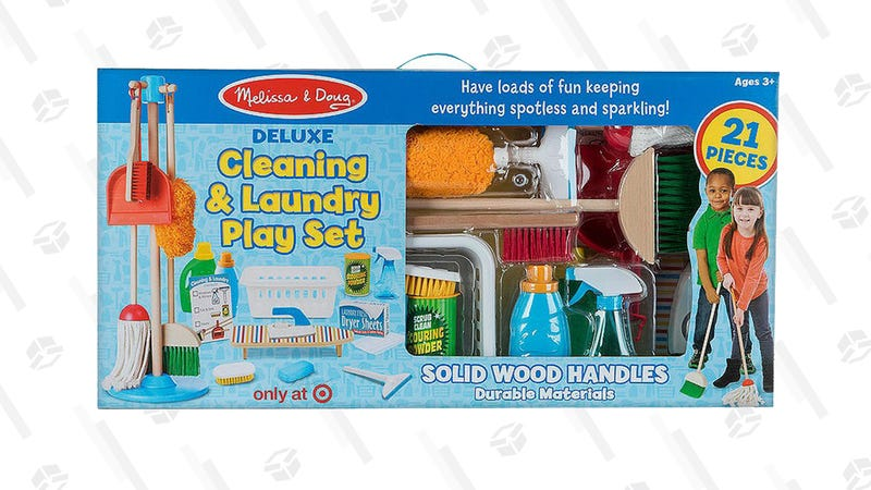 Melissa & Doug Deluxe Cleaning and Laundry Play Set | $20 via Cartwheel | Target