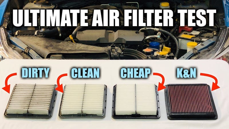 Illustration for article titled Here's the Difference Between a Regular and a Performance Air Filter