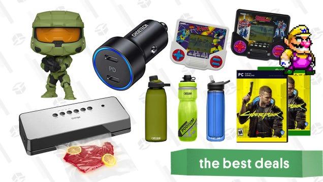 Thursday s Best Deals: CamelBak Water Bottles, Cyberpunk 2077, Funko Pops, Disney Store Sale, AirPods Pro, Entrige Vacuum Sealer, Tiger Electronics Games, and More