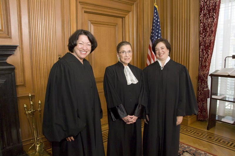Illustration for article titled Anti-Gay Group Wants Kagan and Ginsburg to Recuse from Marriage Case