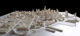 Illustration for article titled See the Towering Future of San Francisco's Skyline In a 3D-Printed Model