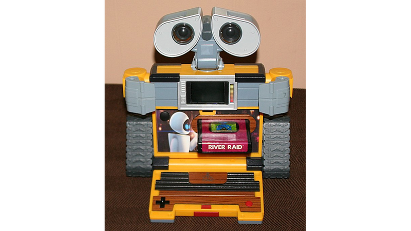 Illustration for article titled WALL-E Becomes The World's Cutest Atari 2600