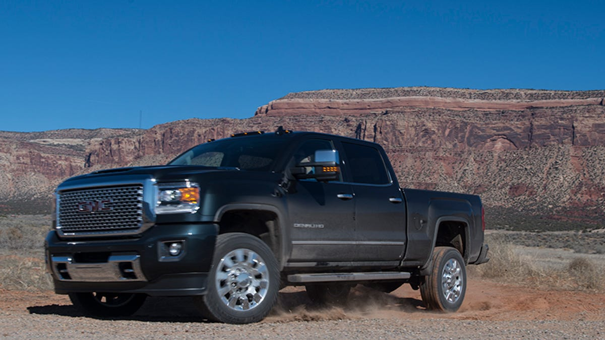 2017 Gmc Sierra Hd First Drive It S Got A Ton Of Torque But That Not What This Truck