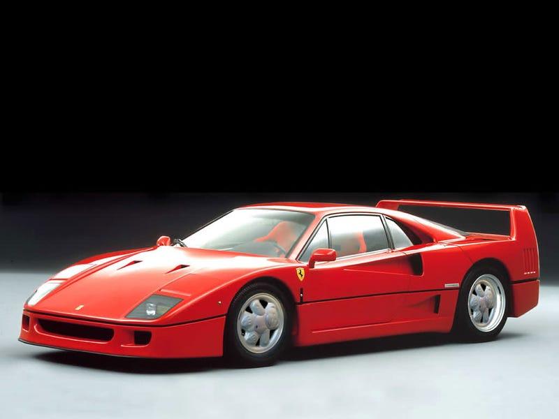 Illustration for article titled Ferrari F40 On Ronal Teddy Bears