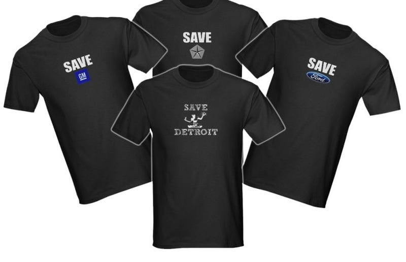 Illustration for article titled Save The Not-So-Big Three...With T-Shirts!