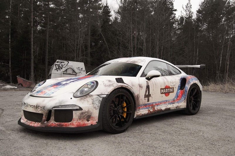 Illustration for article titled 991 GT3 RS Rally