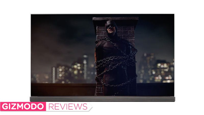Illustration for article titled Daredevil Actually Looks Like a Comic Book on LG's $8000 OLED TV