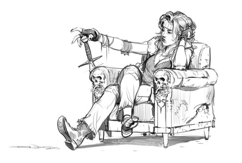 Illustration for article titled Just Hangin' Out, Plottin' Deeds
