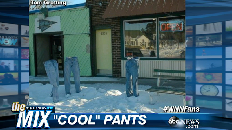 Illustration for article titled Frozen Pants Is a Chill Trend in Minnesota