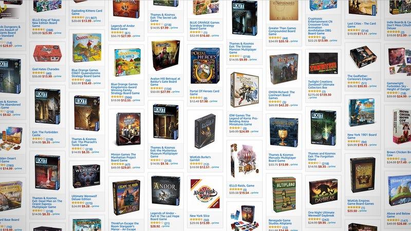 Strategy Board Game Gold Box | Amazon