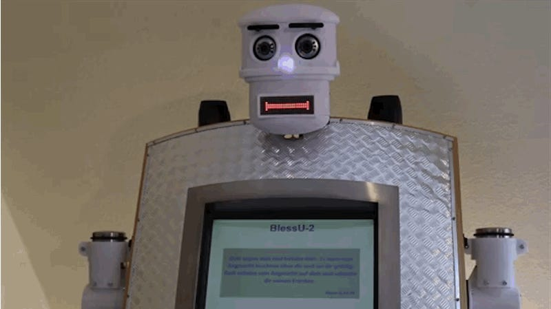 In Germany, You Can Get Blessed by a New Robot Priest