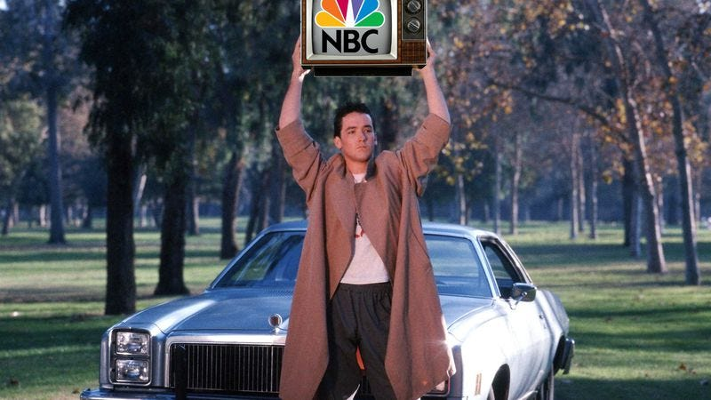 Illustration for article titled NBC says yes to a Say Anything TV show, Cameron Crowe says no