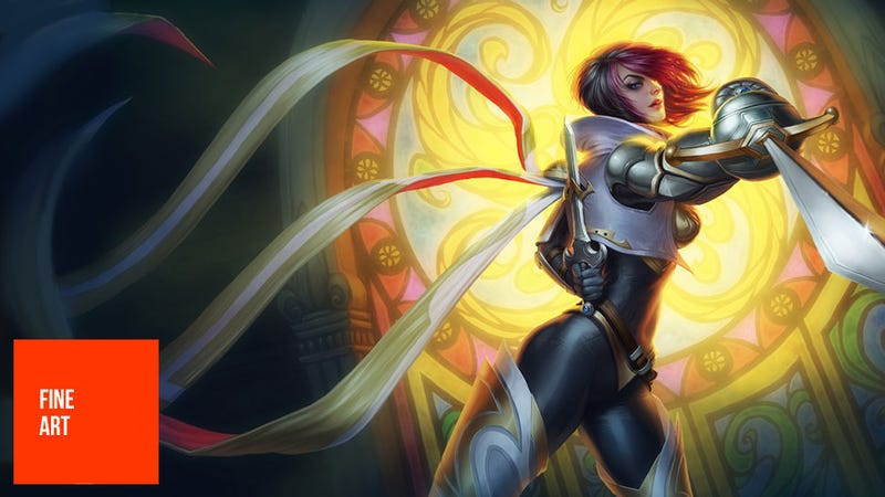 Illustration for article titled This League of Legends Artist's Work Is A...Riot (I'm So Sorry)