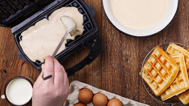 How to Clean Your Electric Waffle Maker