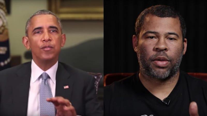 Jordan Peele does his best Obama