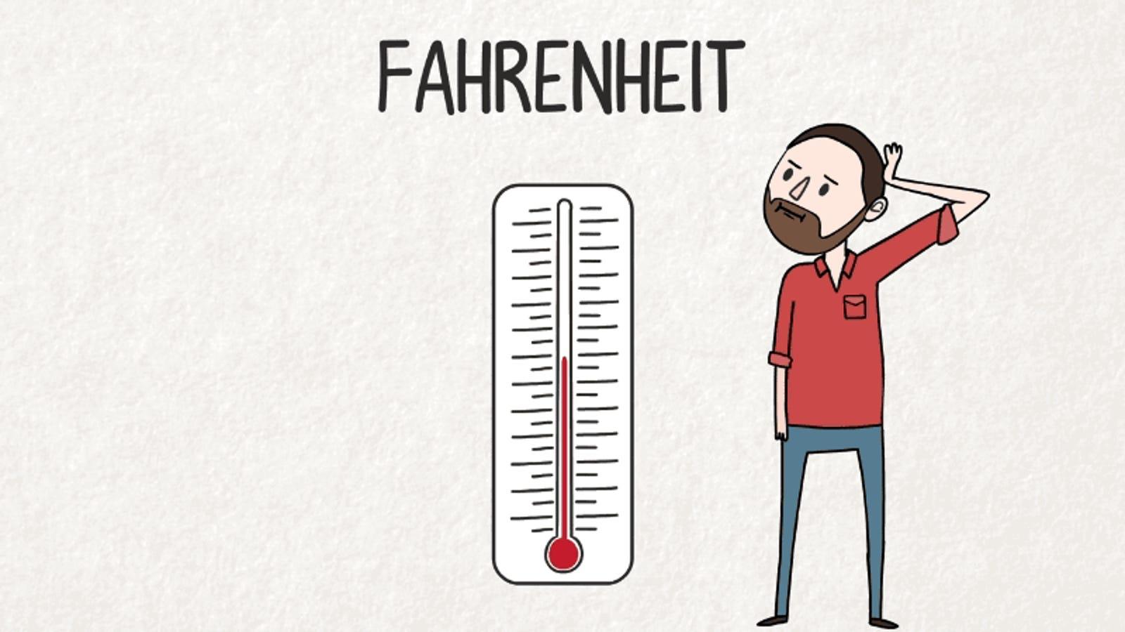 por qué los grados fahrenheit tienen muy poco sentido como escala de