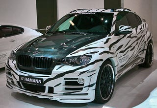 Illustration for article titled Hamann BMW X6 Tycoon EVO: Tuning In The Bad Taste