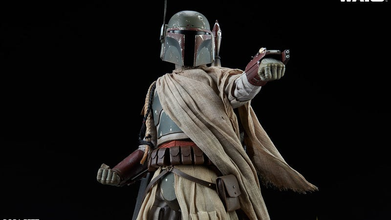 Here's Boba Fett Like You've Never Seen Him Before
