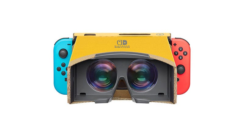 Illustration for article titled Nintendo Announces Labo VR Kit For Switch