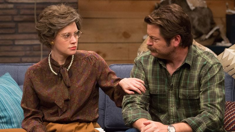 Kate McKinnon, Nick Offerman